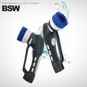 BSW 오토스핀 100%방수 무선 욕실 청소기 BS-1604-BC
