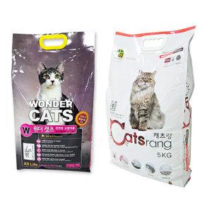 고양이사료 5kg~10kg원더캣츠 프로베스트캣