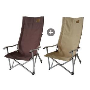 1+1 넘버엔 릴렉스 체어 프로  접이식 캠핑 의자 야외