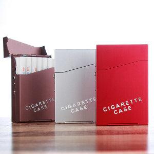 (오디스샵) 20개피 원터치담배케이스 알리미늄 파우치