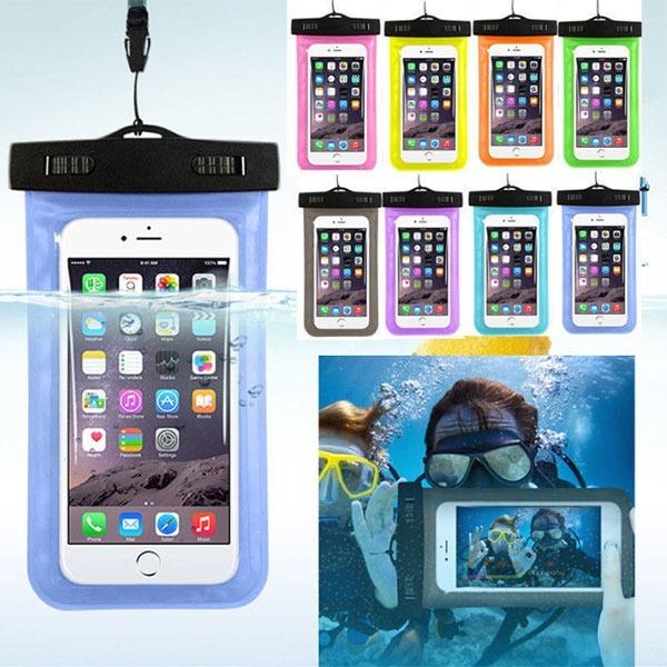 원터치 방수팩 아이폰 스마트폰 케이스 암밴드 IPX8