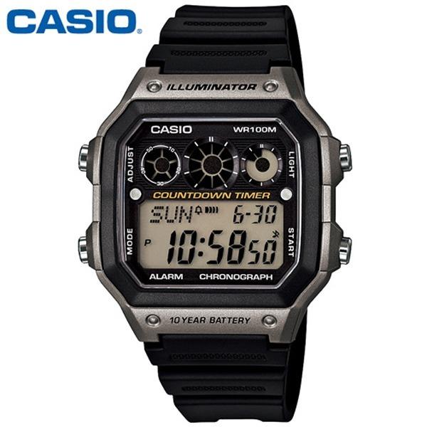 카시오 군인 학생시계 / 남성시계 / AE-1300WH-8A