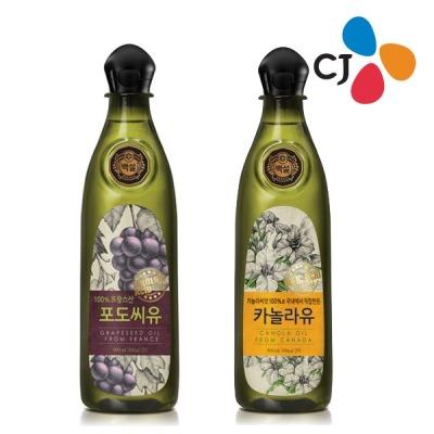 (neo) CJ 백설 카놀라유/포도씨유 900ml /식용유