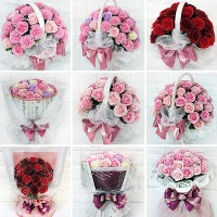 비누꽃15800~꽃다발 장미 카네이션 꽃바구니 생일선물