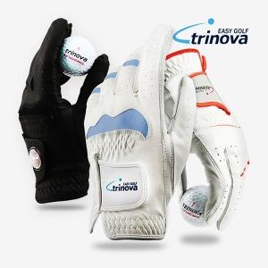 트리노바 골프장갑 기능성(세탁가능) /반양피 /올양피