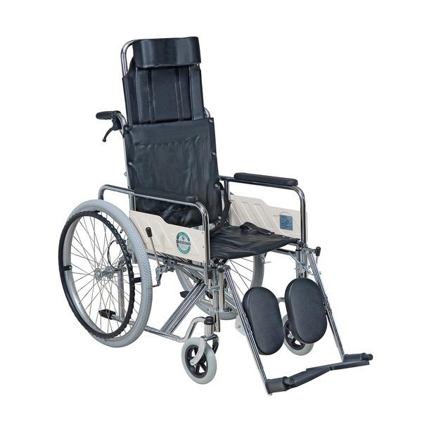 DF-109B(PU) 대성 침대형 스틸 휠체어