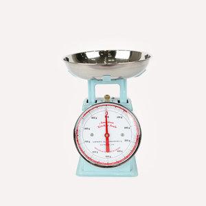 덜튼 주방저울 1kg 원형 (블루)