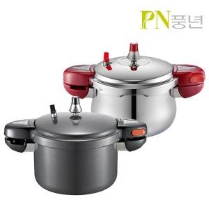 본사판매 블랙샤인/PN클래드IH하이브 압력솥 6인용