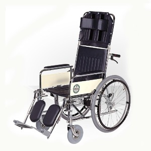 대성 DS-109A 스틸 침대형 국산 휠체어