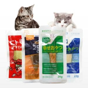 태비 닭가슴살 파우치 고양이간식 사사미 고양이캔