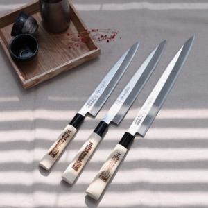 백로 단조 사시미칼 데바칼 일본 정품 다양한 사이즈