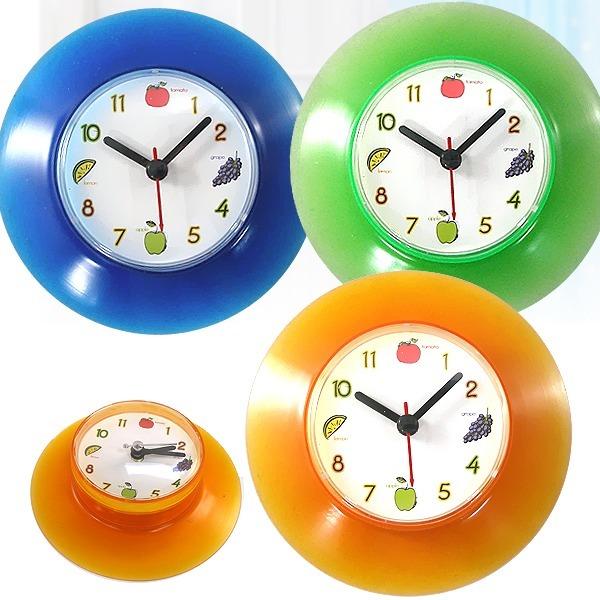 흡착식 방수시계/야광흡착시계/주방/냉장고/욕실시계