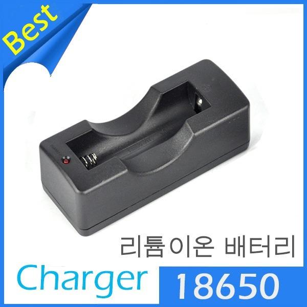 LED 후레쉬 랜턴 MP3 3.7V 18650리튬이온배터리충전기