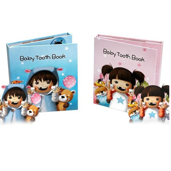 2017NEW Baby Tooth Book  유치보관함 유치보관책 유치보관