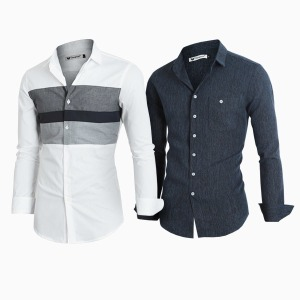 A남성셔츠/남자남방/봄신상/차이나/솔리드/체크