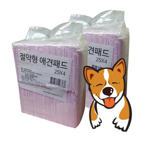 애견패드 100매+100매/300매 17500원/ 강아지패드