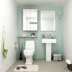 (한가위 빅세일 BIG특가) 하이바스 메리 욕실