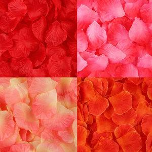 100p 웨딩 파티용 꽃잎 장미 조화 플라워 꽃가루