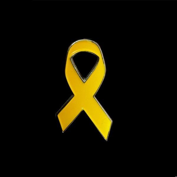 [큐신라] 노란리본 뱃지 표준형 뺏지 배지 빼지