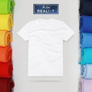 리얼리T/국산/남여공용/단체티/티셔츠/무지티/면티
