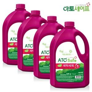 액체세제/집먼지진드기 액체세제 2.5L 4개/세탁세제