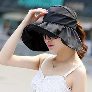 접이식 프라햇 썬캡 자외선 햇빛가리개 모자 여성모자