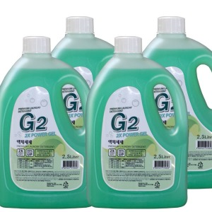 G2 고농축 액체세제 2.5Lx4개 / 13L 세제 세탁세제