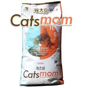 10kg  캐츠맘 캣츠맘 전연령 고양이사료  무료배송