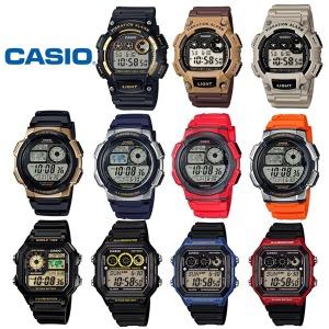 정품 W-735H 카시오 스포츠 전자 군용 시계 진동알람