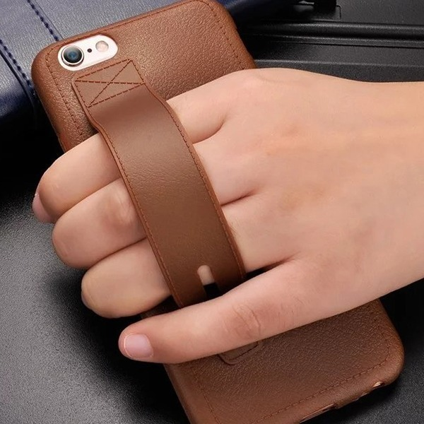 아이폰6s 아이폰7 플러스 래더 그립 가죽 케이스 선물
