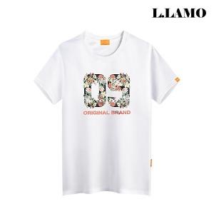 L.LAMO 오버핏 반팔티셔츠 S~4XL 남녀공용