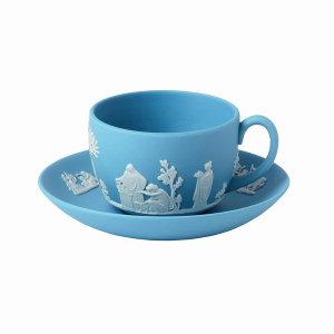 (신세계강남점)자스퍼 블루 커피잔 1인조