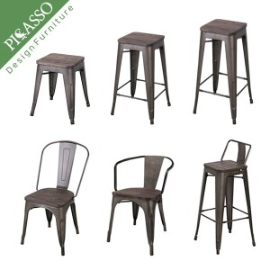 톨릭스목판체어 모음전 카페의자 빈티지체어 높은의자
