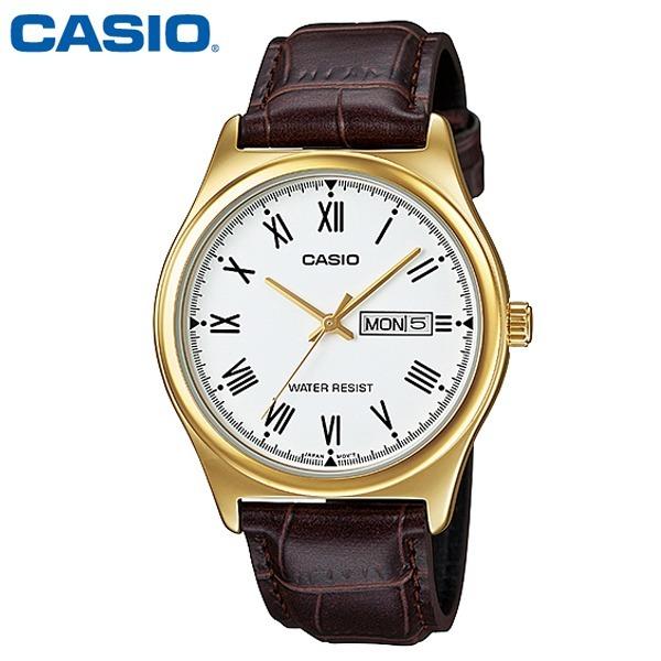 카시오 / 남성용 패션시계 / MTP-V006GL-7B