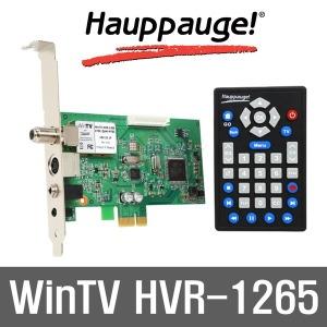 WinTV HVR-1265 HD방송시청녹화 외부입력 PCI-E HDTV