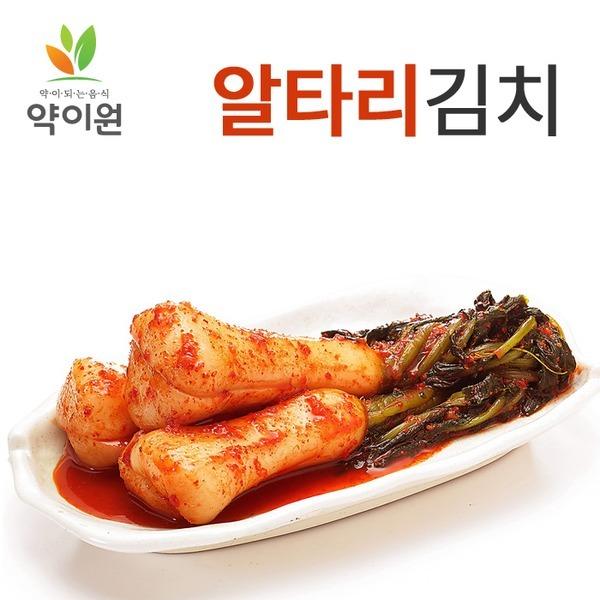 약이원 국내산 프리미엄 전라도식 총각김치 1kg