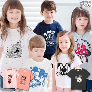 디즈니정품/반팔티/나시/미키마우스/아동티셔츠