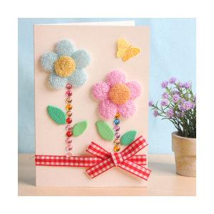 꽃카드 만들기