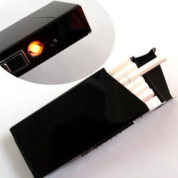 울트라 슬림 담배케이스 - 코일 라이터 /얇은담배용