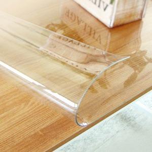 유리 대용 투명매트 식탁 보 아스테이지 바닥 고무판
