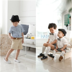 아동남방/남아 정장/흰남방/청남방/반팔/돌복/아동복