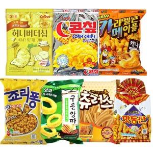 해태 허니버터칩/콘칩/츄러스/죠리퐁/맛동산/구운양파