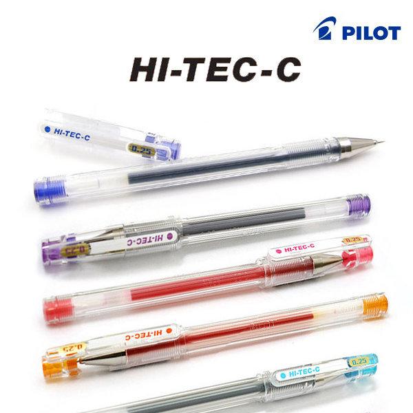 파이롯트 하이테크C 중성펜 HI-TEC-C 0.25/0.3/0.4mm