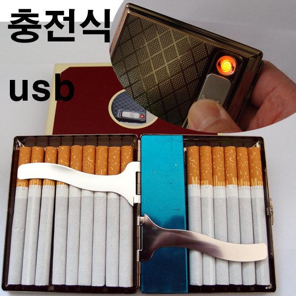 HX 담배케이스 코일형 라이터/에쎄용케이스 선택