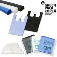 비닐봉투 쓰레기봉투 / 재활용마트봉지봉다리김장롤팩