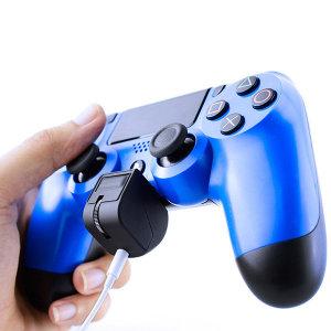 PS4 듀얼쇼크 마이크 ON/OFF 이어폰 볼륨조절기