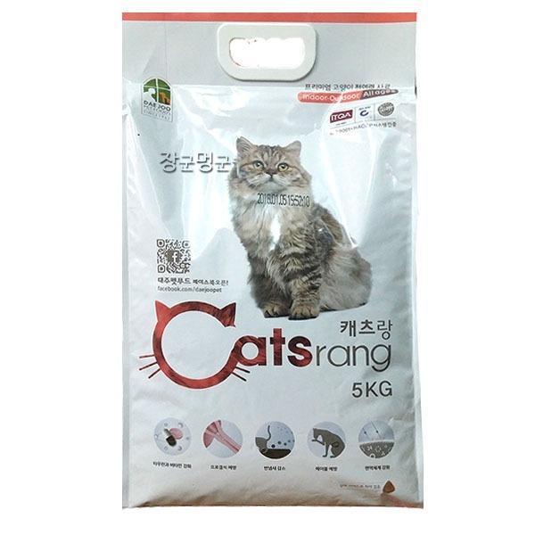 고양이사료/캐츠랑 전연령 5kg/캣츠랑