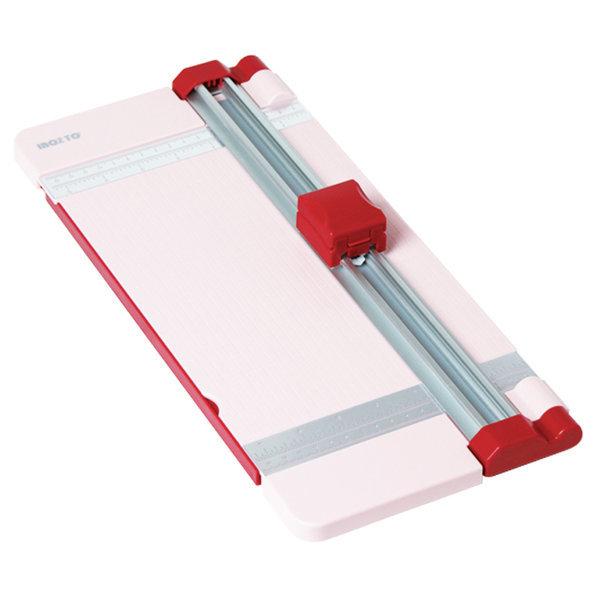 디스크재단기/T-800/라이트핑크/컷터기/종이재단기