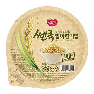 동원 발아현미밥 210g x18개 /즉석밥/햇반/오뚜기밥