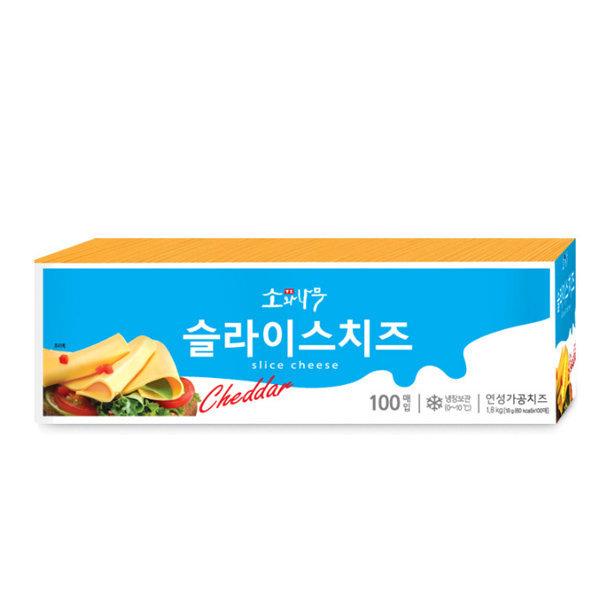 동원 소와나무 슬라이스 치즈 1.8Kg (100장)